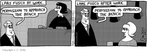 Comic Strip J.C. Duffy  Fusco Brothers 2009-07-30 counsel
