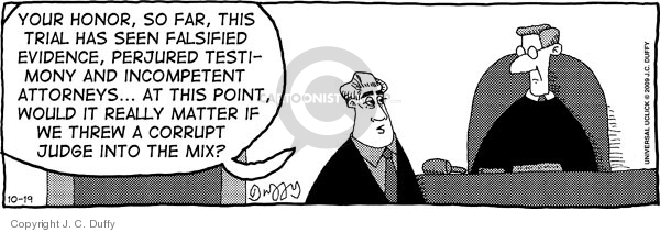 Comic Strip J.C. Duffy  Fusco Brothers 2009-10-19 counsel