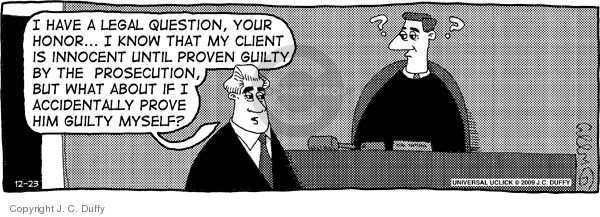 Comic Strip J.C. Duffy  Fusco Brothers 2009-12-23 counsel