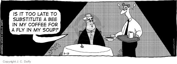 Comic Strip J.C. Duffy  Fusco Brothers 2010-03-13 substitution