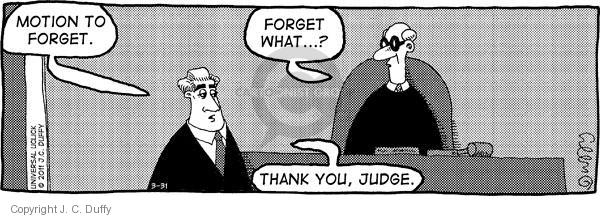 Comic Strip J.C. Duffy  Fusco Brothers 2011-03-31 courtroom