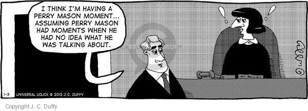 Comic Strip J.C. Duffy  Fusco Brothers 2012-01-03 counsel