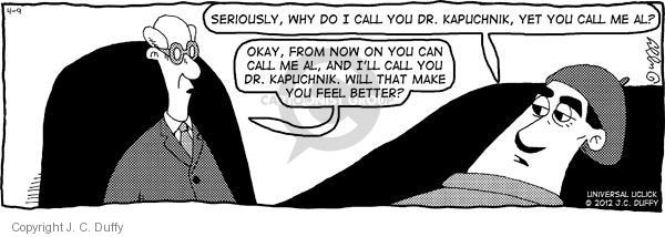 Comic Strip J.C. Duffy  Fusco Brothers 2012-04-09 therapy