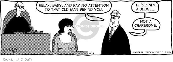 Comic Strip J.C. Duffy  Fusco Brothers 2012-04-23 attention