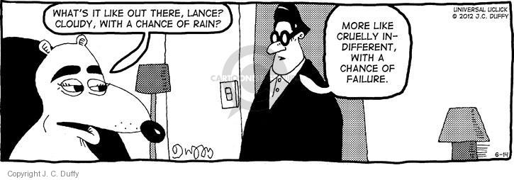 Comic Strip J.C. Duffy  Fusco Brothers 2012-06-14 out