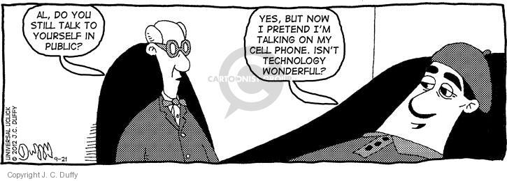 Comic Strip J.C. Duffy  Fusco Brothers 2012-09-21 technology