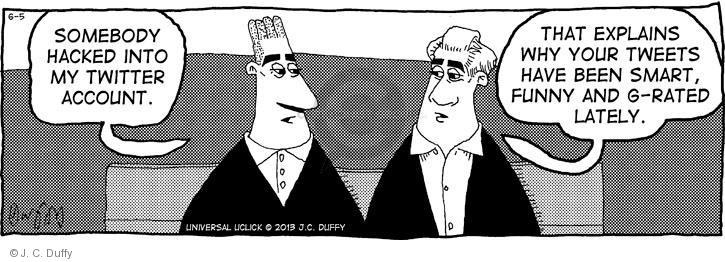 Comic Strip J.C. Duffy  Fusco Brothers 2013-06-05 media