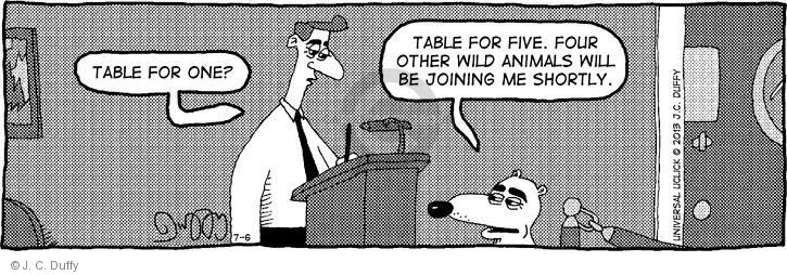 Comic Strip J.C. Duffy  Fusco Brothers 2013-07-06 four