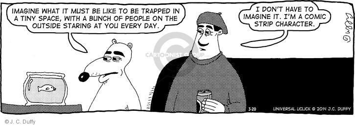 Comic Strip J.C. Duffy  Fusco Brothers 2014-03-20 every