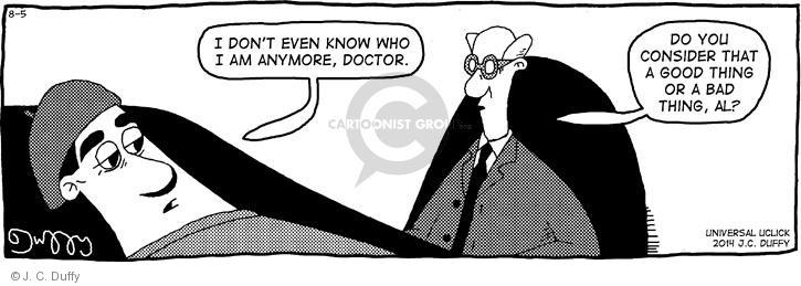 Comic Strip J.C. Duffy  Fusco Brothers 2014-08-05 psychotherapy
