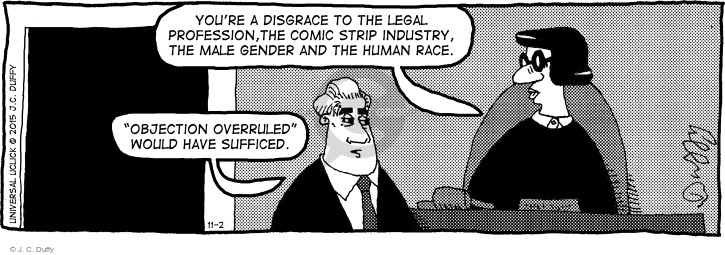 Comic Strip J.C. Duffy  Fusco Brothers 2015-11-02 gender