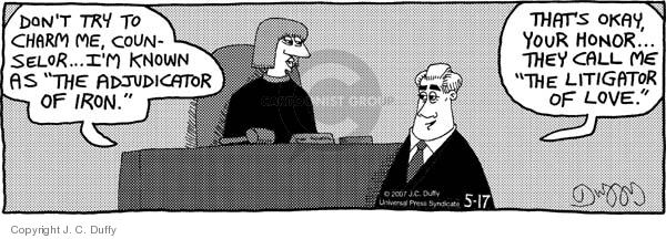 Comic Strip J.C. Duffy  Fusco Brothers 2007-05-17 courtroom