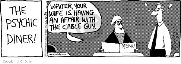 Cartoonist J.C. Duffy  Fusco Brothers 2007-11-26 server