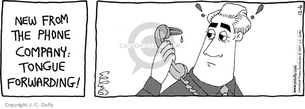 Comic Strip J.C. Duffy  Fusco Brothers 2007-12-06 phone call