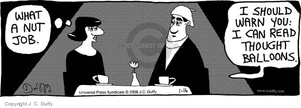 Comic Strip J.C. Duffy  Fusco Brothers 2008-01-16 restaurant