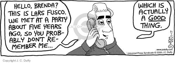 Comic Strip J.C. Duffy  Fusco Brothers 2008-01-17 call