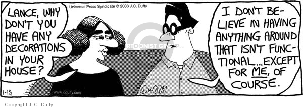 Comic Strip J.C. Duffy  Fusco Brothers 2008-01-18 have
