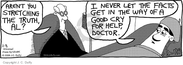 Comic Strip J.C. Duffy  Fusco Brothers 2008-02-08 therapist