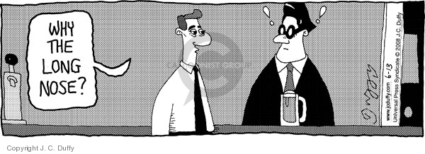 Comic Strip J.C. Duffy  Fusco Brothers 2008-06-13 customer