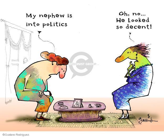 Gustavo Rodriguez  Garrincha's Editorial Cartoons 2011-12-06 decency