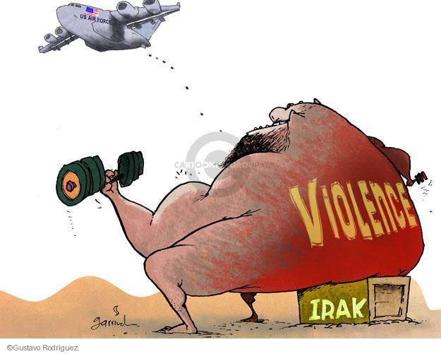 Gustavo Rodriguez  Garrincha's Editorial Cartoons 2011-12-29 force