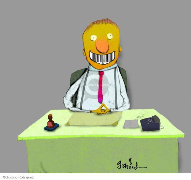Gustavo Rodriguez  Garrincha's Editorial Cartoons 2012-01-03 corporate