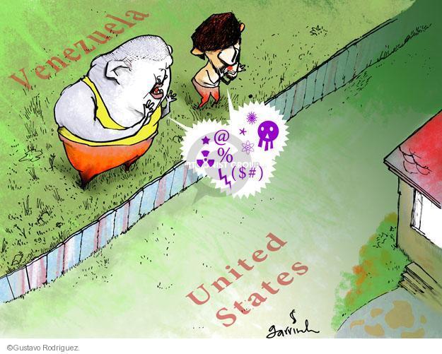 Gustavo Rodriguez  Garrincha's Editorial Cartoons 2012-11-11 north