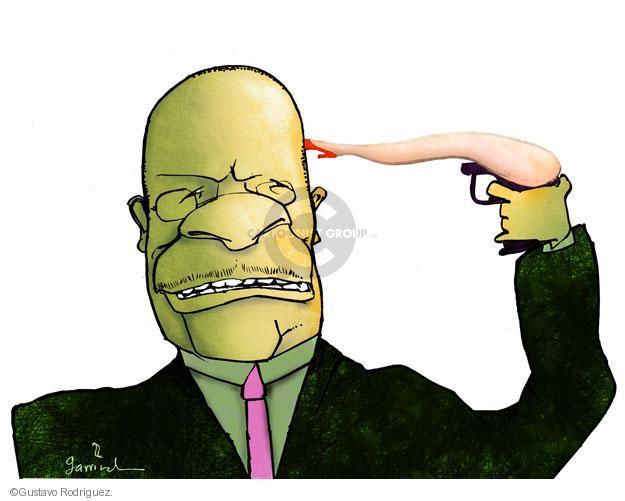 Gustavo Rodriguez  Garrincha's Editorial Cartoons 2011-12-02 CEO