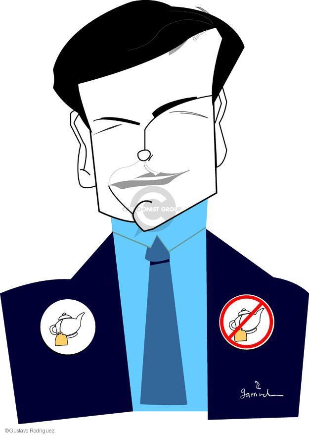 Gustavo Rodriguez  Garrincha's Editorial Cartoons 2012-01-28 republican party