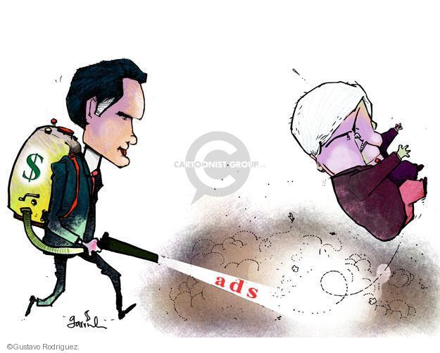 Gustavo Rodriguez  Garrincha's Editorial Cartoons 2012-01-30 cash