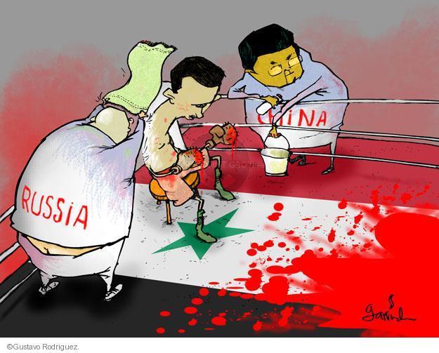 Gustavo Rodriguez  Garrincha's Editorial Cartoons 2012-02-08 boxing