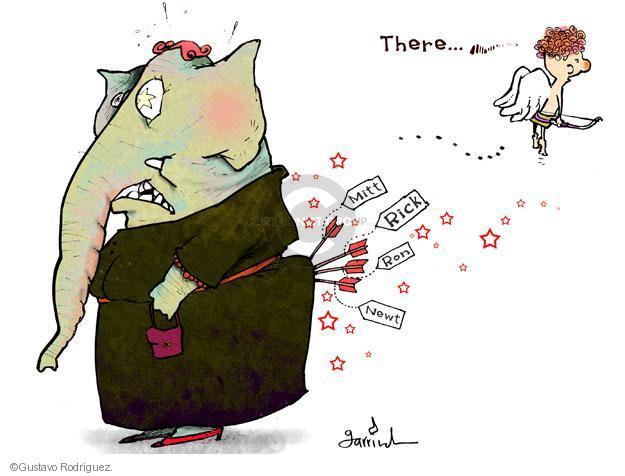 Gustavo Rodriguez  Garrincha's Editorial Cartoons 2012-02-14 Paul