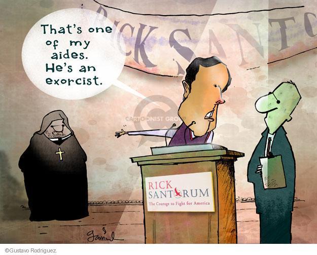Gustavo Rodriguez  Garrincha's Editorial Cartoons 2012-02-23 courage