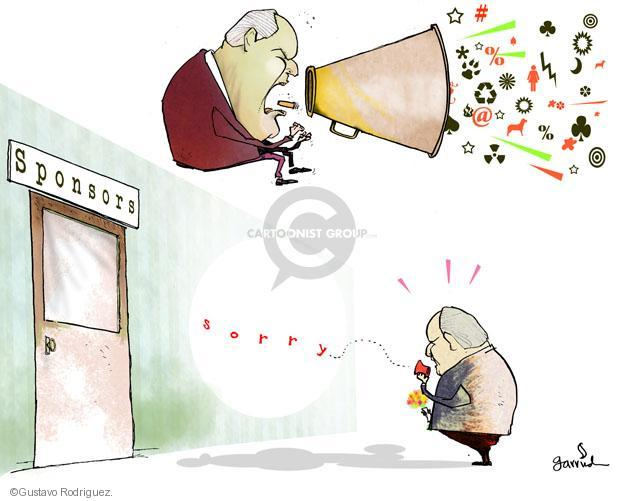 Gustavo Rodriguez  Garrincha's Editorial Cartoons 2012-03-07 talk