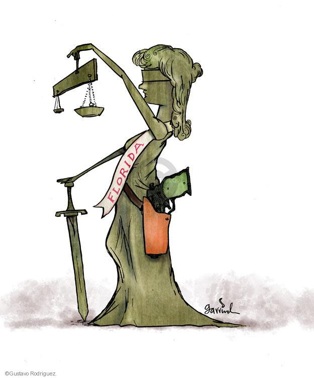 Gustavo Rodriguez  Garrincha's Editorial Cartoons 2012-03-22 justice