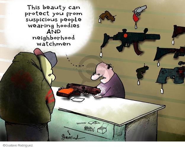 Gustavo Rodriguez  Garrincha's Editorial Cartoons 2012-04-06 child shooting victim