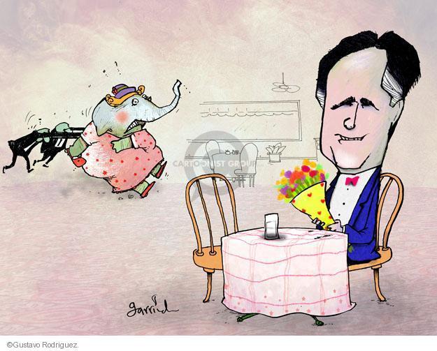 Gustavo Rodriguez  Garrincha's Editorial Cartoons 2012-04-13 flower bouquet