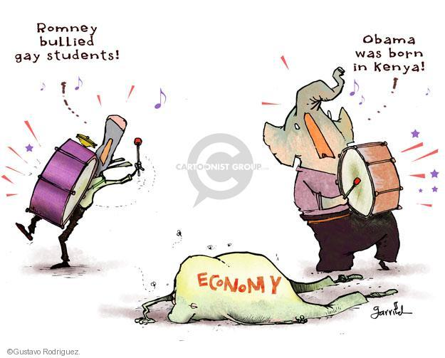 Cartoonist Gustavo Rodriguez  Garrincha's Editorial Cartoons 2012-05-21 recession