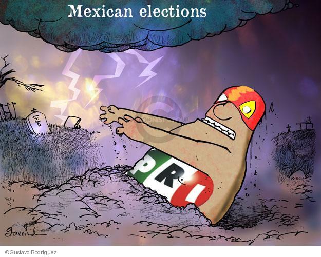 Mexican elections. PRI.