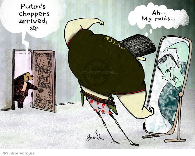 Gustavo Rodriguez  Garrincha's Editorial Cartoons 2012-06-18 Russia