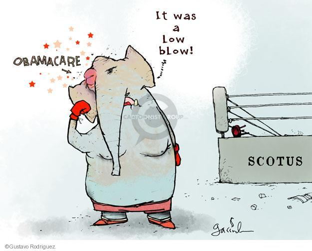 Gustavo Rodriguez  Garrincha's Editorial Cartoons 2012-06-29 supreme court justice