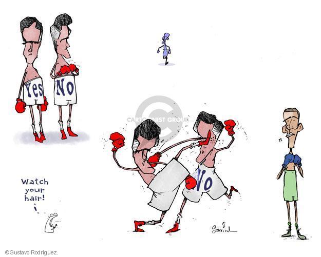 Gustavo Rodriguez  Garrincha's Editorial Cartoons 2012-07-16 boxing