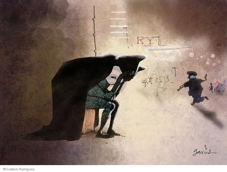 Gustavo Rodriguez  Garrincha's Editorial Cartoons 2012-07-20 theater shooting