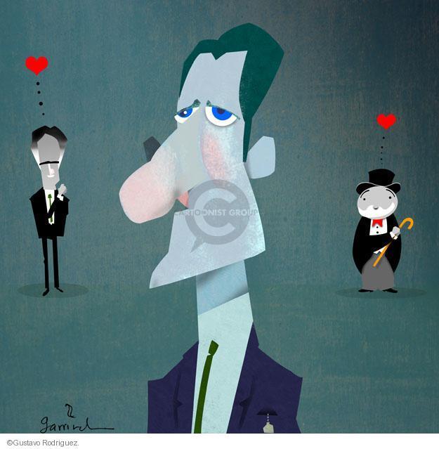 Gustavo Rodriguez  Garrincha's Editorial Cartoons 2012-08-14 love