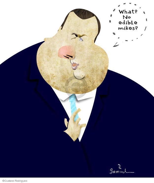Gustavo Rodriguez  Garrincha's Editorial Cartoons 2012-08-30 speak