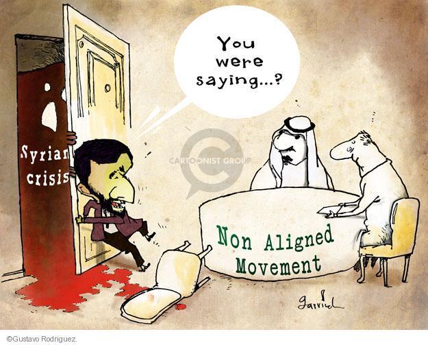 Gustavo Rodriguez  Garrincha's Editorial Cartoons 2012-08-31 Middle East
