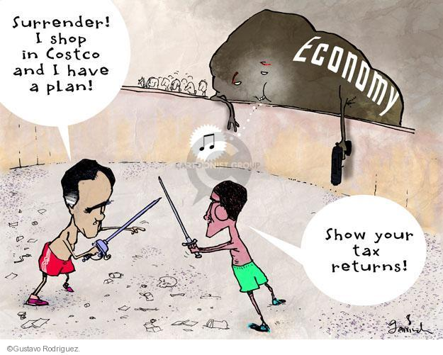 Gustavo Rodriguez  Garrincha's Editorial Cartoons 2012-09-03 economy