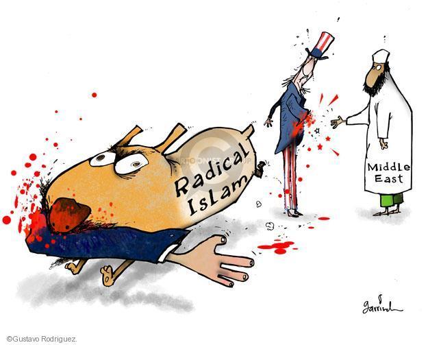 Gustavo Rodriguez  Garrincha's Editorial Cartoons 2012-09-14 Middle East