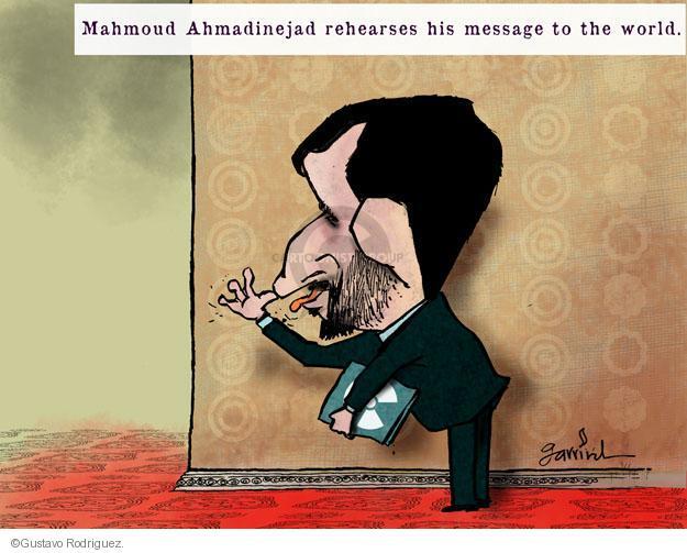 Gustavo Rodriguez  Garrincha's Editorial Cartoons 2012-09-28 Iran