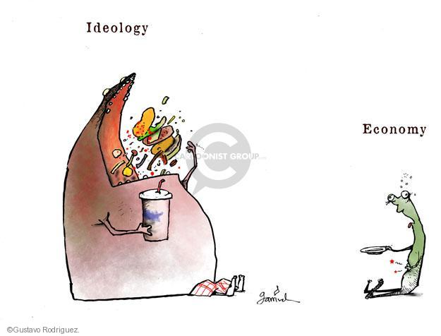 Gustavo Rodriguez  Garrincha's Editorial Cartoons 2012-09-30 economy